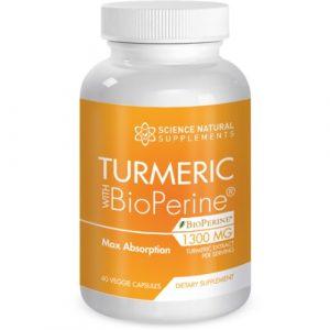 Turmeric W/ Bioperine: Buy 1 Bottle Get 3 Bottles Free!